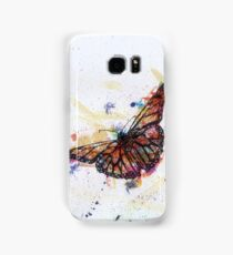 Scribble Ink Butterfly Samsung Galaxy Case/Skin