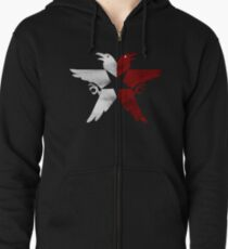 InFamous Second Son Eagles v2 Zipped Hoodie