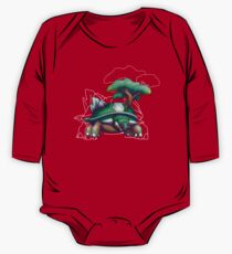 Earth Turtle One Piece - Long Sleeve