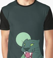 Puma, dark green - Gravity Falls Graphic T-Shirt