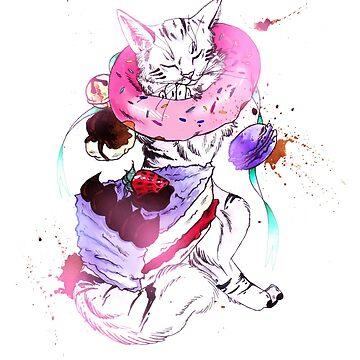 Cats n Cakes by mcrmorbid