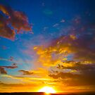 Sunset in Peru by KerryPurnell