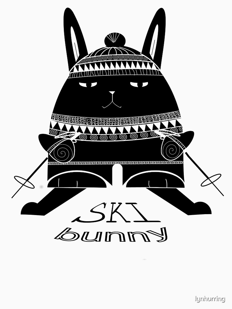 Ski Bunny by lynhurring