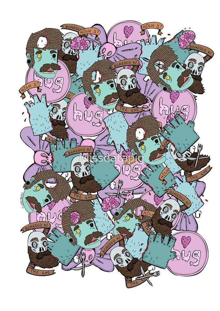 zombie print by Missdatapig