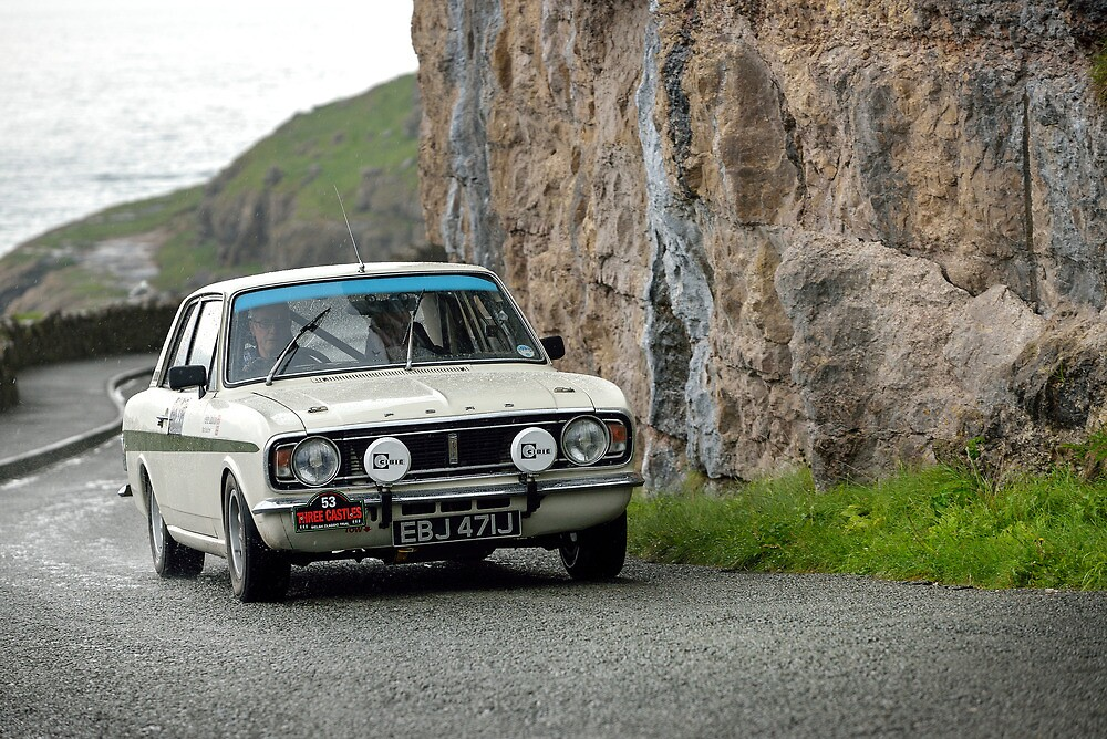 The Three Castles Welsh Trial 2014 - Lotus Cortina MK11 by Three-Castles