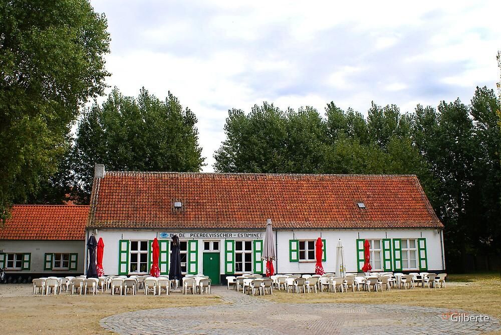 In de Peerdevisscher - Oostduinkerke - Belgium by Gilberte
