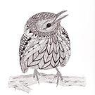 Tangled Warbler by Christianne Gerstner