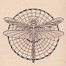 Dragonfly Tangle by Christianne Gerstner