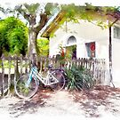 Fognano: railway station, bicycle by Giuseppe Cocco