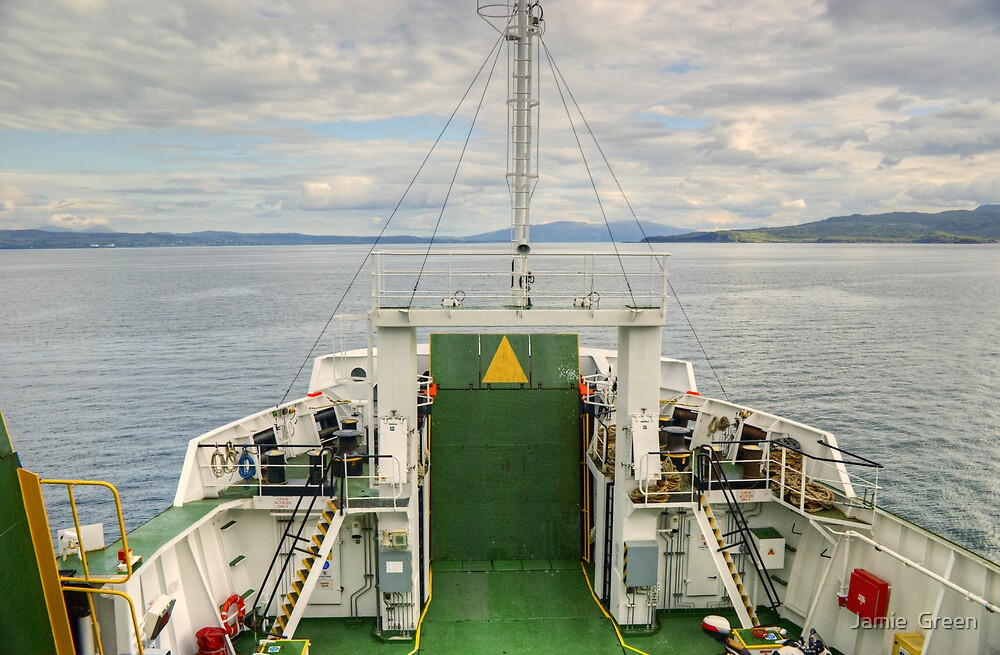The Sound Of Sleat by Jamie  Green