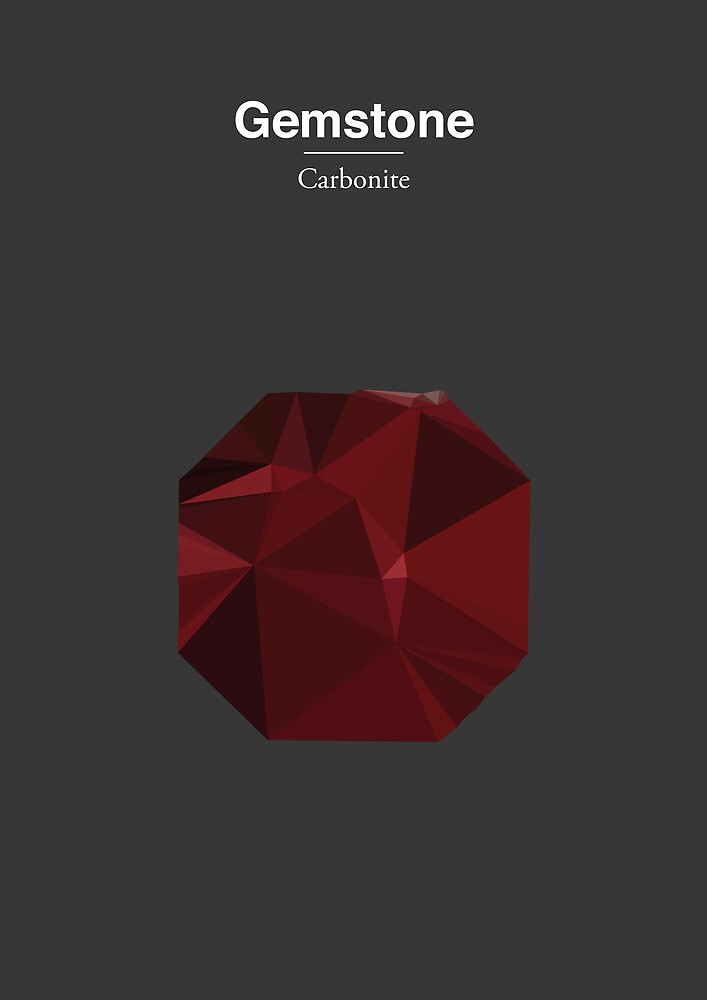 Gemstone - Carbonite by Marco Recuero