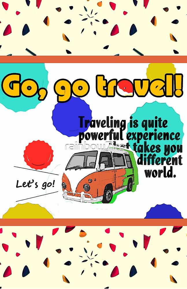 Go Go Travel by rainbow7iro