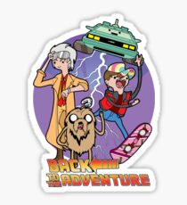 Back to the Adventure Sticker