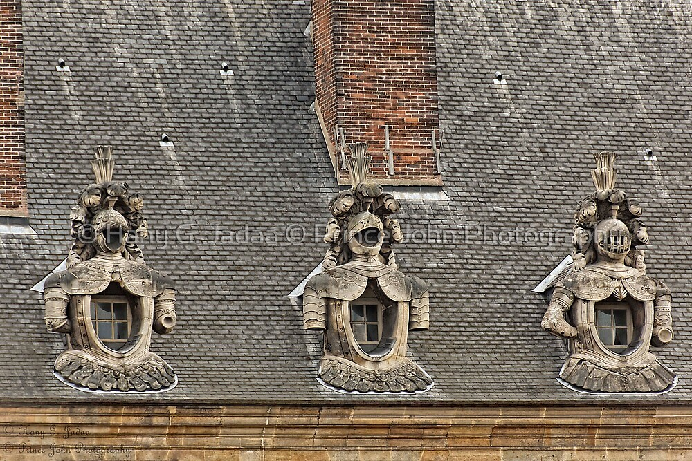 Guardians On The Roof - 1 © by © Hany G. Jadaa © Prince John Photography