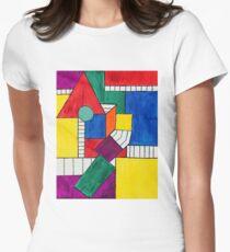 Facade Women's Fitted T-Shirt