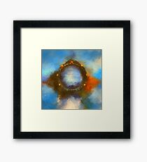 ancient worlds science fiction fantasy Framed Print
