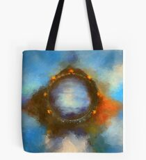 ancient worlds science fiction fantasy Tote Bag