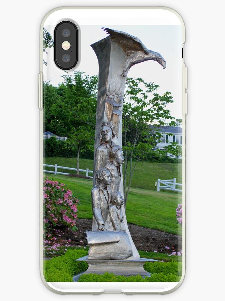 Immigrant Memorial Statue by CapeCodGiftShop