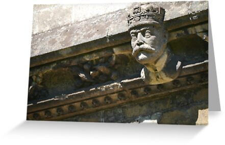Llandaff Cathedral Grotesque 3 by Jimardee