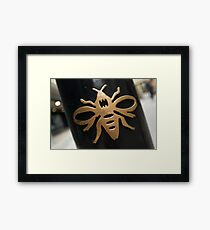 Manchester Worker Bee Framed Print