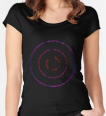 LETHANY Women's Fitted Scoop T-Shirt