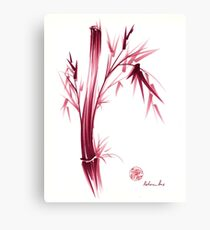 """INSPIRE"" - Original ink brush pen bamboo drawing/painting Canvas Print"