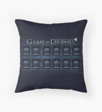 Game of Drones Throw Pillow