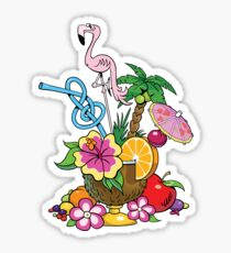 Fruit Cocktail Sticker