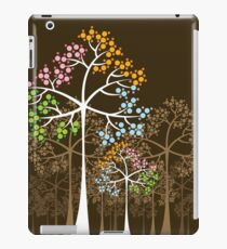 Colorful Four Seasons Trees iPad Case/Skin