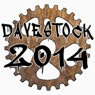 Davestock 2014 - Black Text by JoeForrest