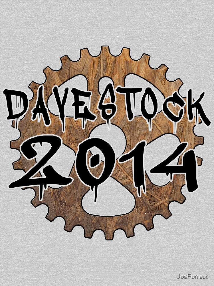 Davestock 2014 - Black Text by JoeForrest