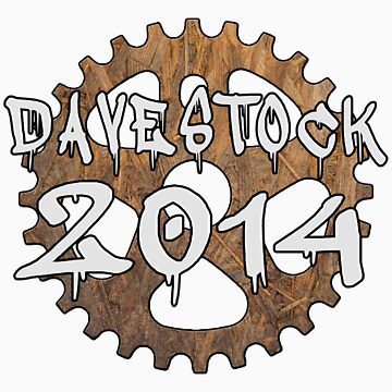 Davestock 2014 - White Text by JoeForrest
