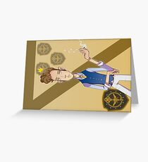 Eliot Waugh (The Magicians) postcard Greeting Card