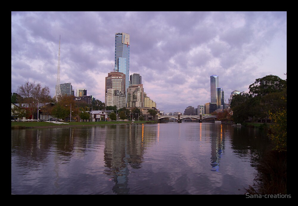 Melbourne City by Sama-creations