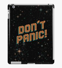 Don't Panic! Pixels iPad Case/Skin
