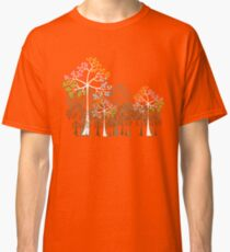 Colorful Four Seasons Trees Classic T-Shirt