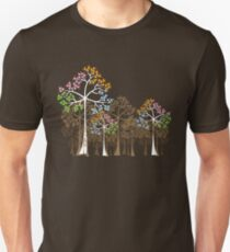 Colorful Four Seasons Trees T-Shirt