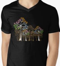 Colorful Four Seasons Trees T-Shirt