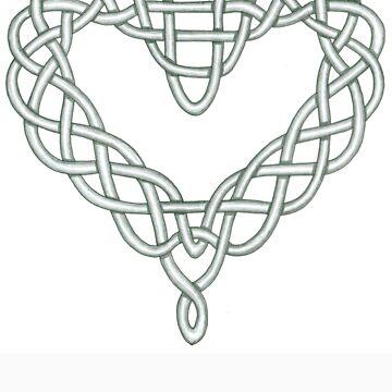 Celtic Knot Heart by Hrothgar79