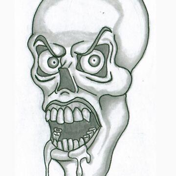 Drooling Skull by Hrothgar79