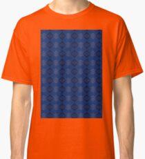 Blue & Black Classic T-Shirt