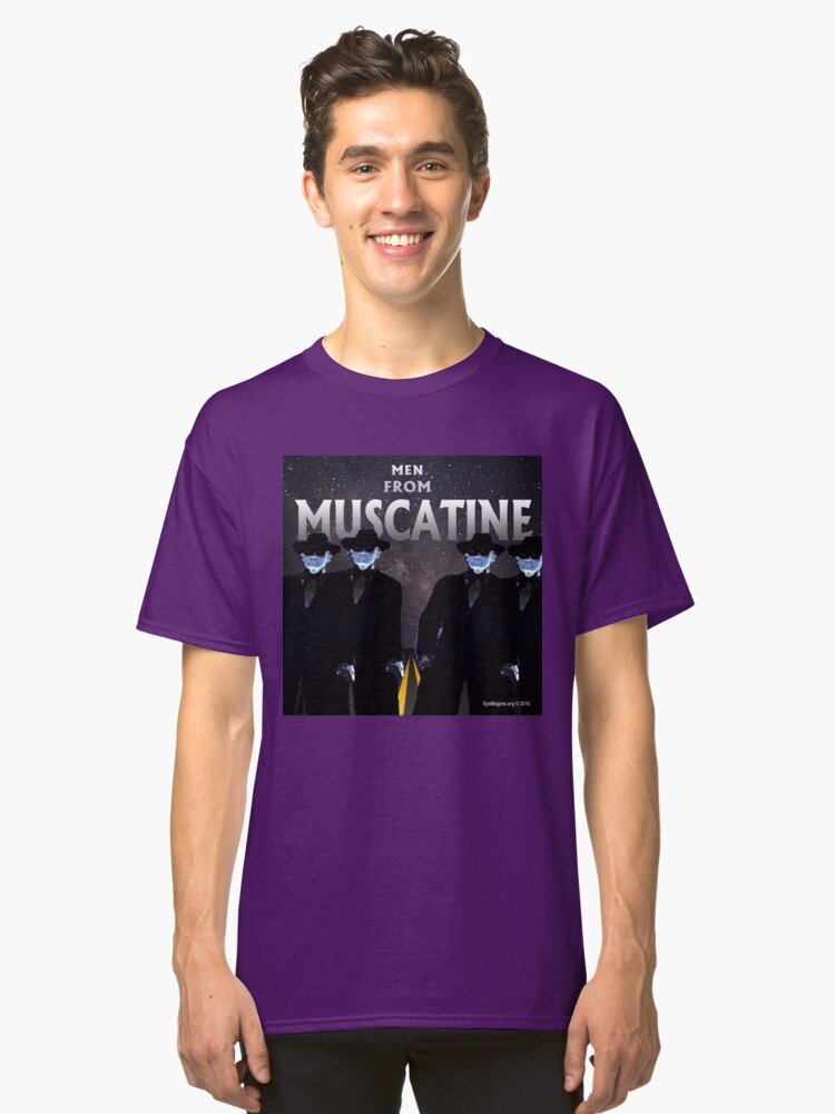Men From Muscatine Classic T-Shirt Front