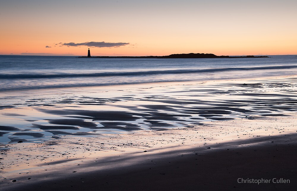 St Baldred's Sunrise by Christopher Cullen