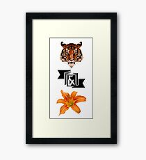 Tiger & Lily, Peter Pan themed- Simple Framed Print