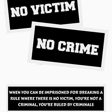 NO VICTIM NO CRIME  by Neberkenezer