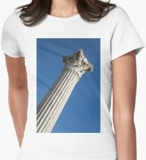 Classical Corinthian Column - Ancient Pompeii Graceful Beauty Right T-Shirt