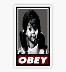 Talky Tina - TZ OBEY Sticker