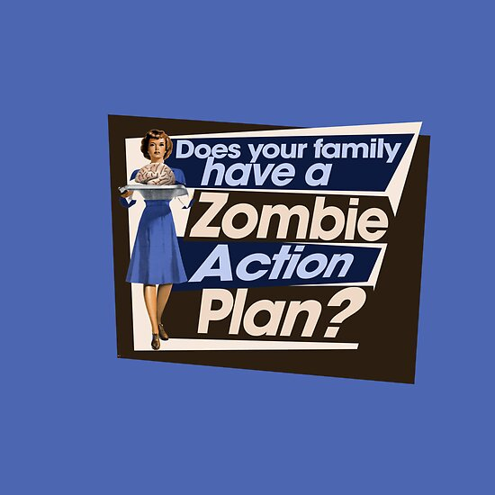 Zombie Action plan by BubbSnugg LC