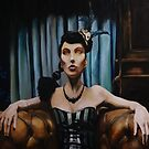 Behind the curtain by Skye O'Shea
