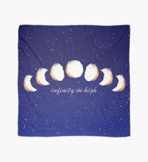 Infinity Moon Phases Scarf